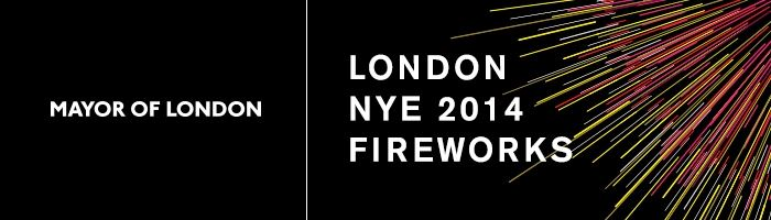 Mayor of London's NYE 2014 Fireworks