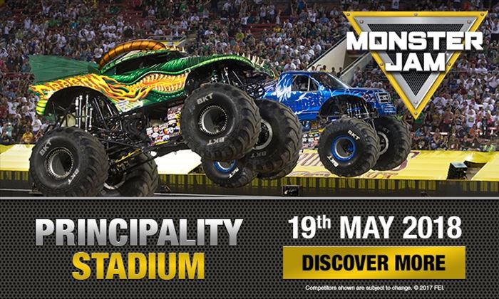 Monster Jam roars back into Cardiff in 2018! Exclusive pre