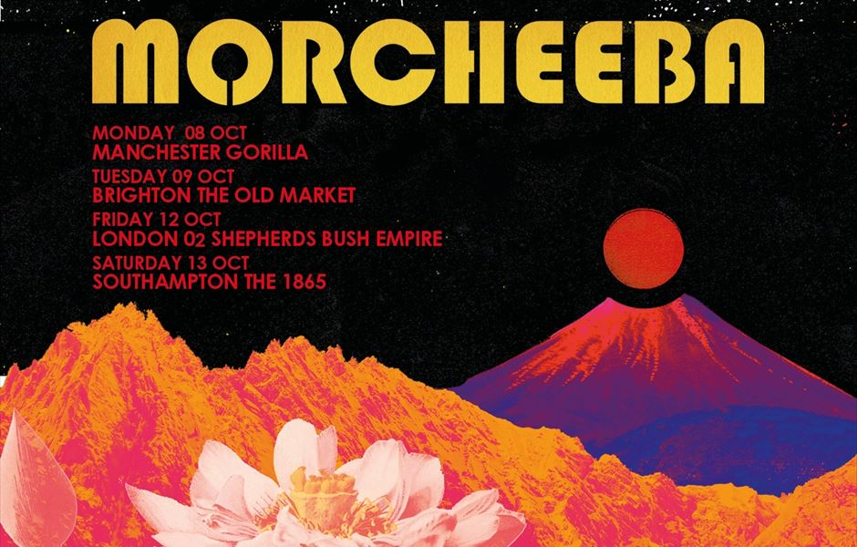MORCHEEBA ANNOUNCE UK TOUR OCTOBER 2018 - Gigs And Tours News