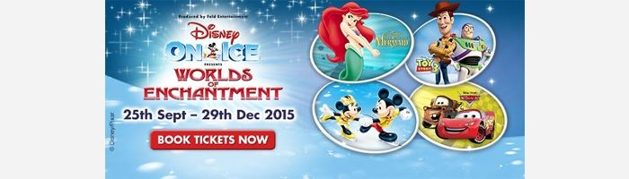 NEW Disney on Ice tour on sale now!