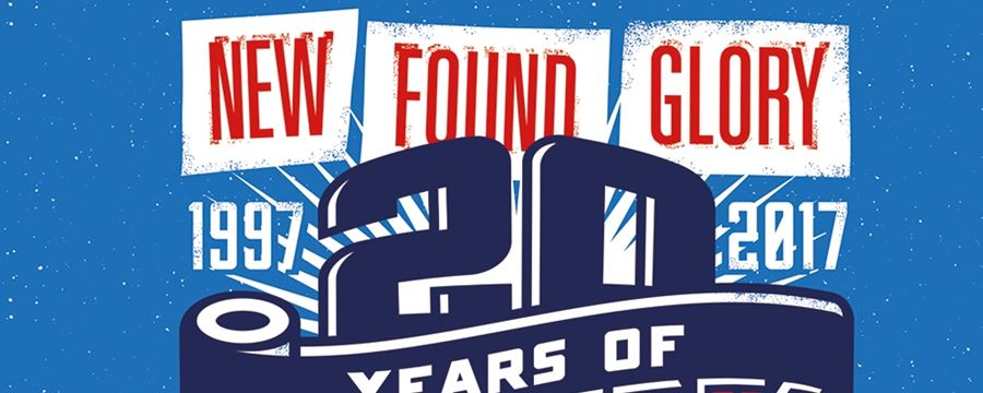 NEW FOUND GLORY ANNOUNCE EXTRA SHOWS FOR 20th ANNIVERSARY UK TOUR