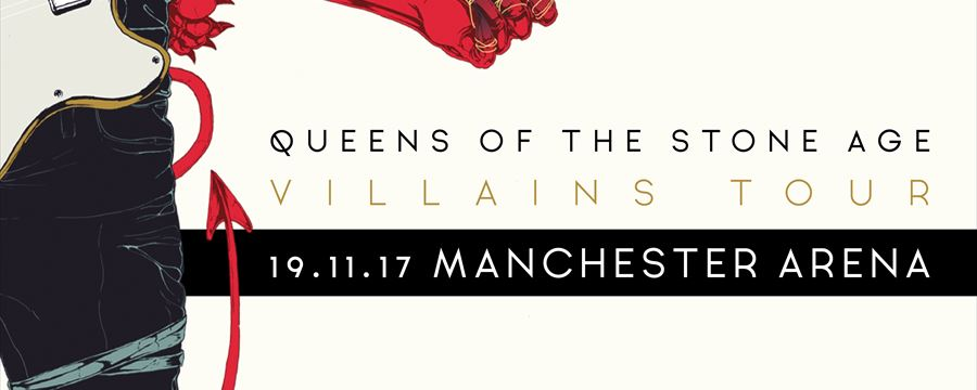 QUEENS OF THE STONE AGE UK arena tour dates announced