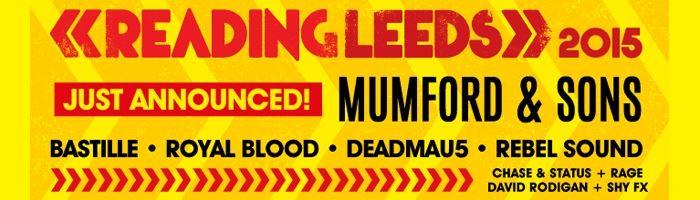 Reading Leeds 2015 Reading Leeds 2015