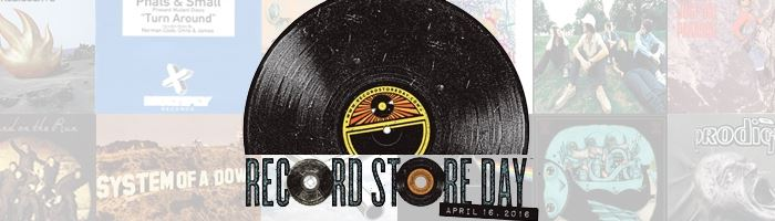 """Record Store Day 2016: """"My First Record..."""""""