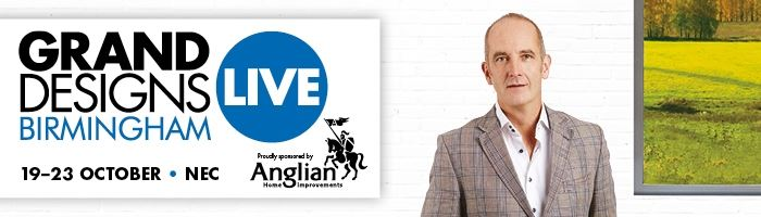 Save 50% on tickets to Grand Designs Live