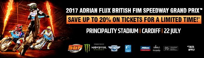 Speedway Grand Prix 2017 now on sale