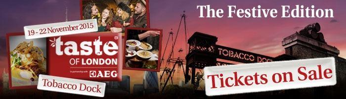 Taste of London: The Festive Edition