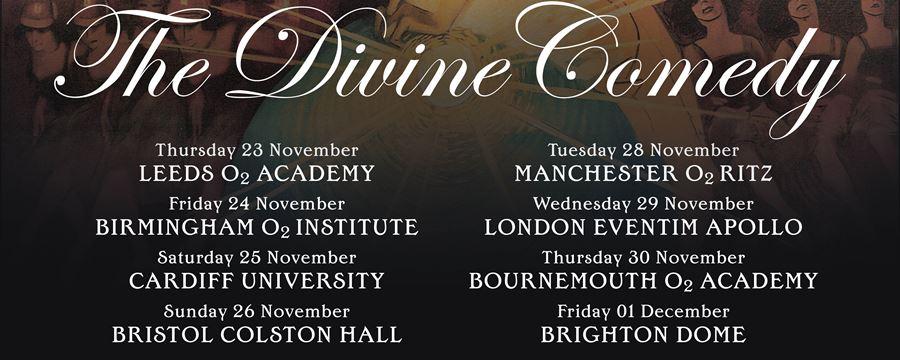 The Divine Comedy 8 Date Autumn Tour
