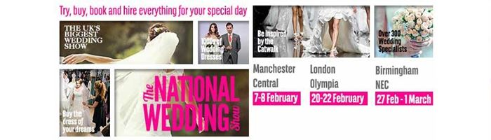 The National Wedding Show at Birmingham's NEC