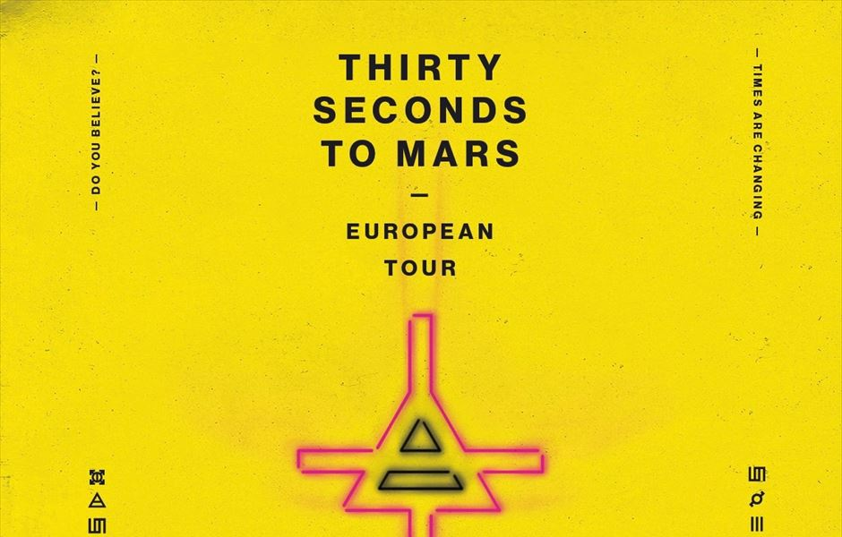 Thirty Seconds To Mars 2018 Tour - Gigs And Tours News