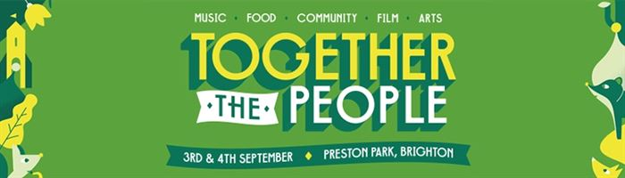 Together The People announce first headliner + acts for 2016!