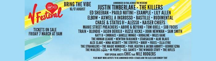 V Festival 2014 announced!