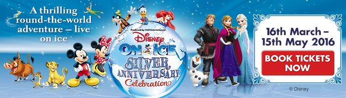 Win a Disney On Ice VIP family ticket!