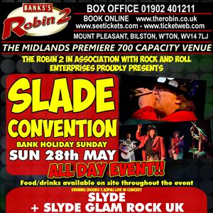 (AFT + EVE TICKET) Slade Convention
