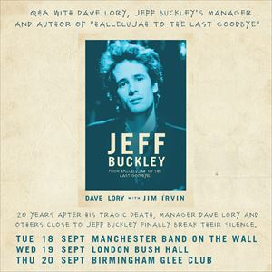 """From Hallelujah"", an evening about Jeff Buckley"