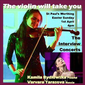 """The violin will take you"""