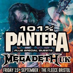 101% Pantera + Megadeth UK