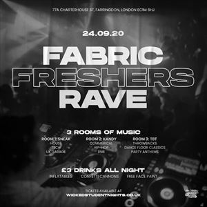 2020 FRESHERS RAVE AT FABRIC
