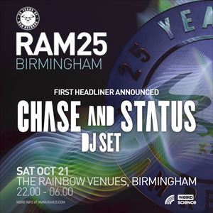 25 Years of RAM Records : Birmingham