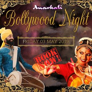 3 Course Meal & Bollywood Dance Entertainment