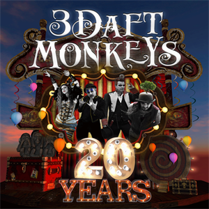 3 Daft Monkeys 20 year celebration night