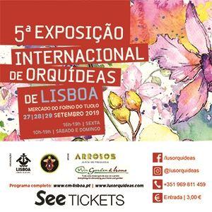 5ª Exposição Internacional De Orquideas De Lisboa