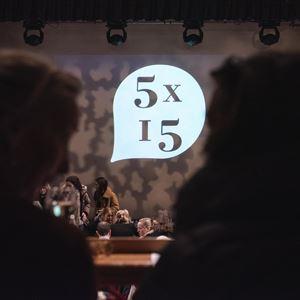 5x15 with Gina Miller,  Paul Mason, Johann Hari