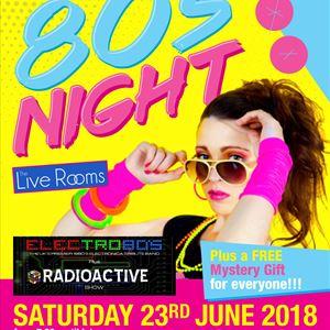 80's Night wt ELECTRO 80's & Radioactive