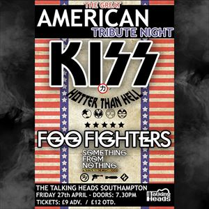 A Night Of American Tribute - KISS & Foo Fighters
