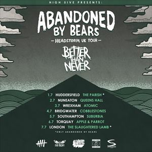 Abandoned By Bears & Special Guests