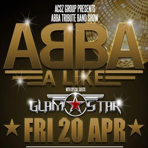 ABBA Tribute Night ft. ABBA-Alike + Glamstar
