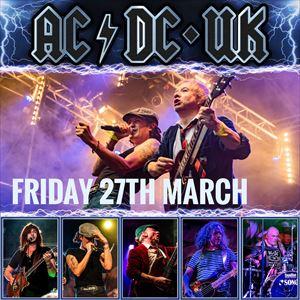 AC/DC UK live in Ashbourne