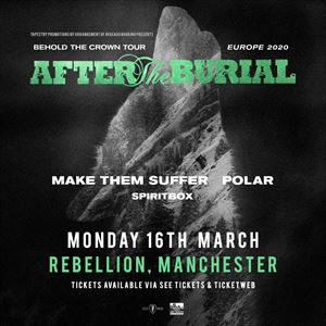 After The Burial - Manchester