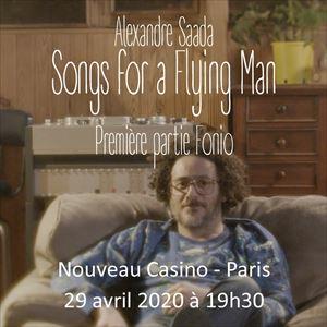 Alexandre Saada - Songs for a Flying Man
