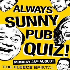 Always Sunny Pub Quiz