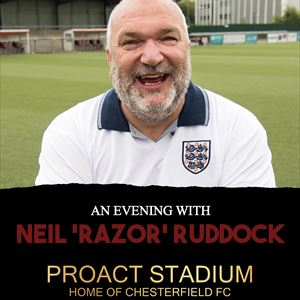 An Evening with Neil 'Razor' Ruddock