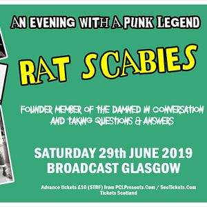 An Evening with Rat Scabies Q&A