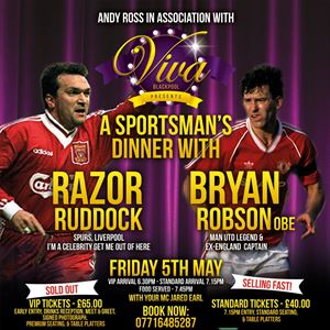 An Evening With Razor Ruddock & Bryan Robson