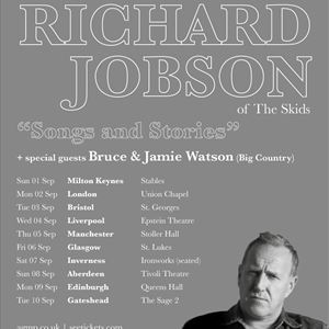 An Evening With RICHARD JOBSON