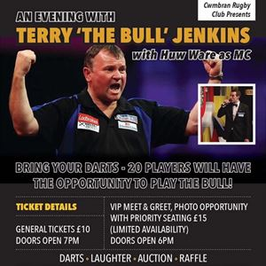 An Evening with Terry 'The Bull' Jenkins