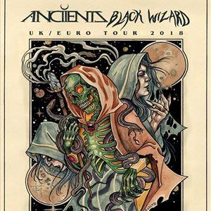 Anciients + Black Wizard + Sapien - GLASGOW