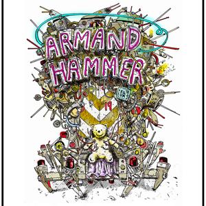 Armand Hammer @ The Green Door Store, Brighton, UK