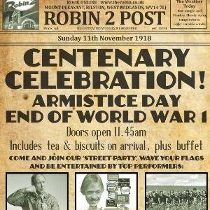 Armistice Day - End of World War 1