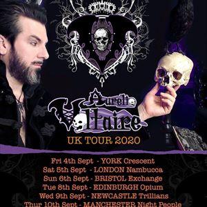 AURELIO VOLTAIRE UK 2020 TOUR