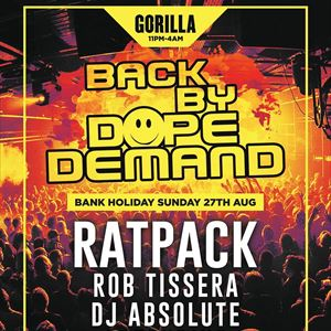 Back By Dope Demand with Ratpack
