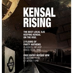 Back To Ours presents: Kensal Rising