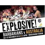 Barbarians vs Australia