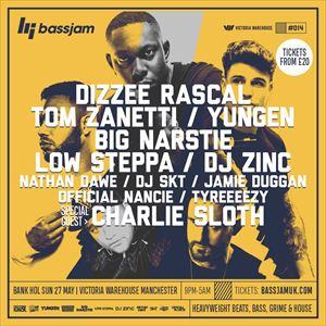 BassJam - Dizzee Rascal, Big Narstie + More