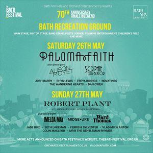 Bath Festivals 70th Anniversary Festival Finale