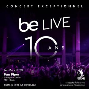 BE LIVE - CONCERT 10 ANS